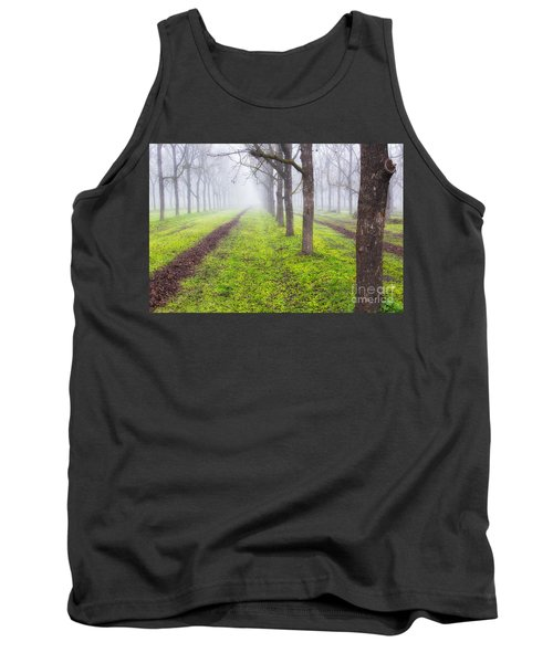 Fog And Orchard Tank Top