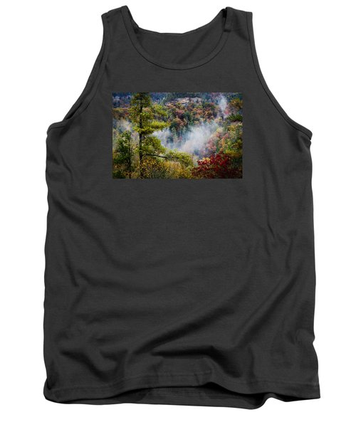 Fog In The Valley Tank Top by Diana Boyd