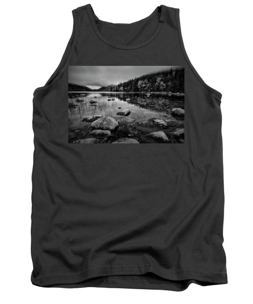 Fog On Bubble Pond Tank Top