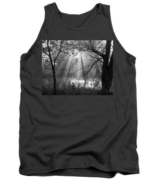 Fog Rays Tank Top by Betsy Zimmerli