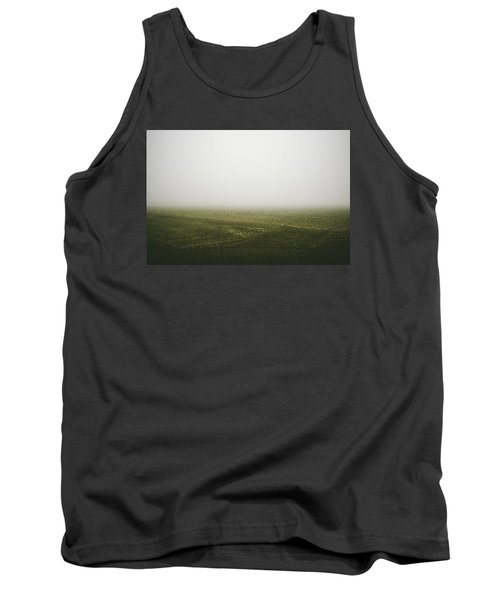 Foggy Autumn Morning Tank Top