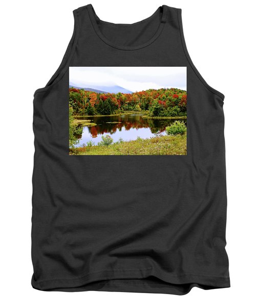 Foggy Day In Vermont Tank Top