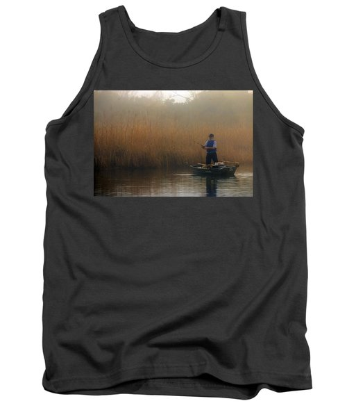Foggy Fishing Tank Top
