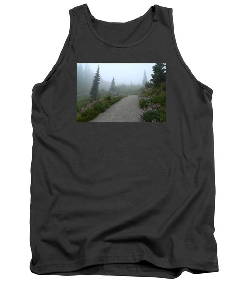 Tank Top featuring the photograph Foggy In Paradise 2 by Lynn Hopwood
