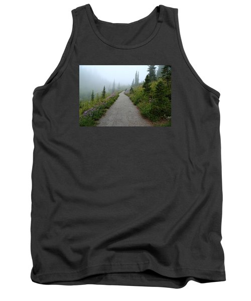 Tank Top featuring the photograph Foggy In Paradise by Lynn Hopwood