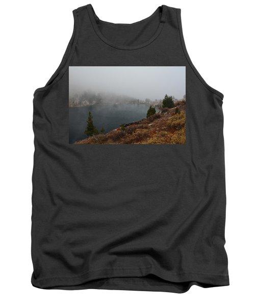 Tank Top featuring the photograph Foggy Liberty Lake by Jenessa Rahn