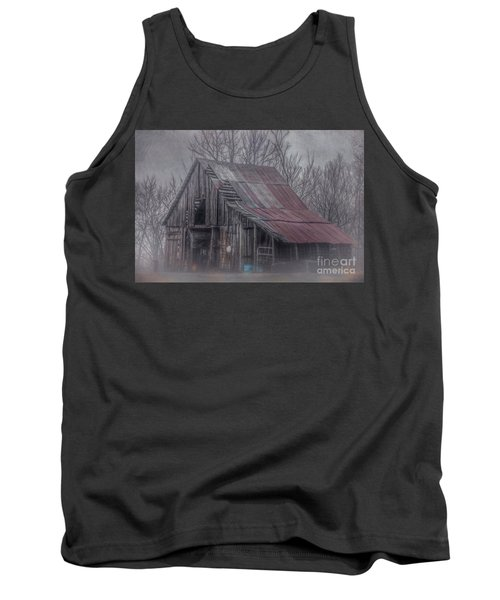 Foggy Morning Backroads Tank Top