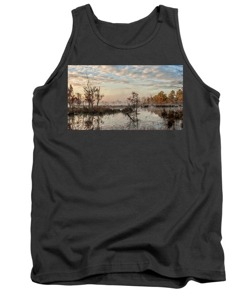 Foggy Morning In The Pines Tank Top