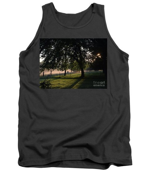 Tank Top featuring the photograph Foggy Morning by Mark McReynolds