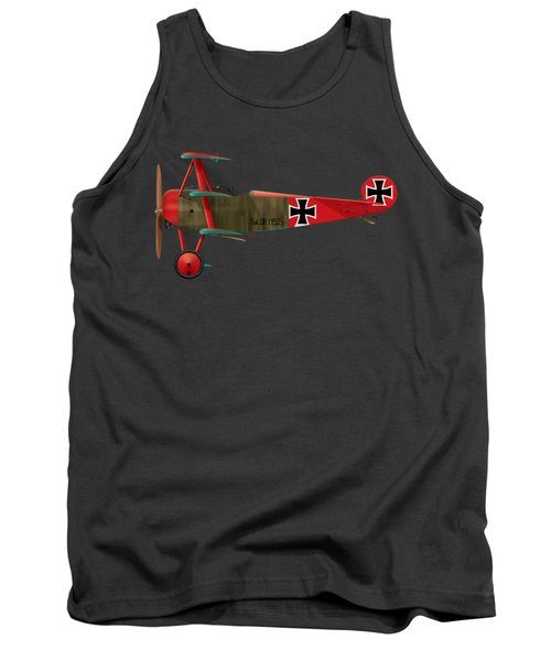 Fokker Dr.1 - 152/17 - March 1918 Tank Top