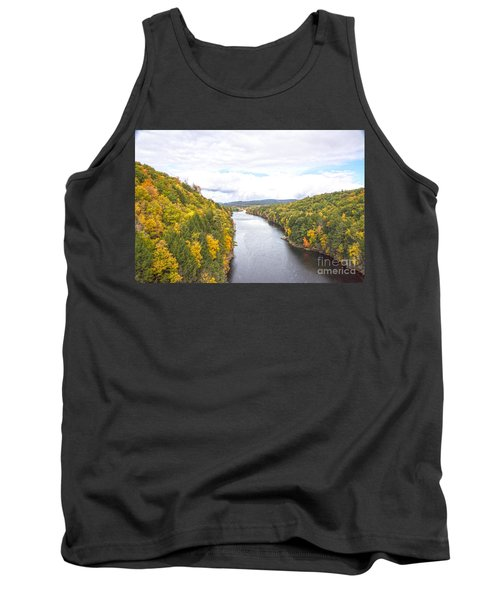 Foliage Clouds Tank Top