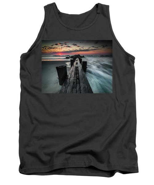 Folly Beach Tale Of Two Sides Tank Top