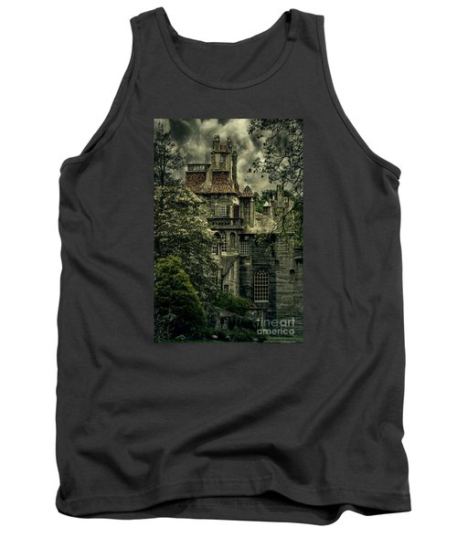 Fonthill With Storm Clouds Tank Top by Debra Fedchin