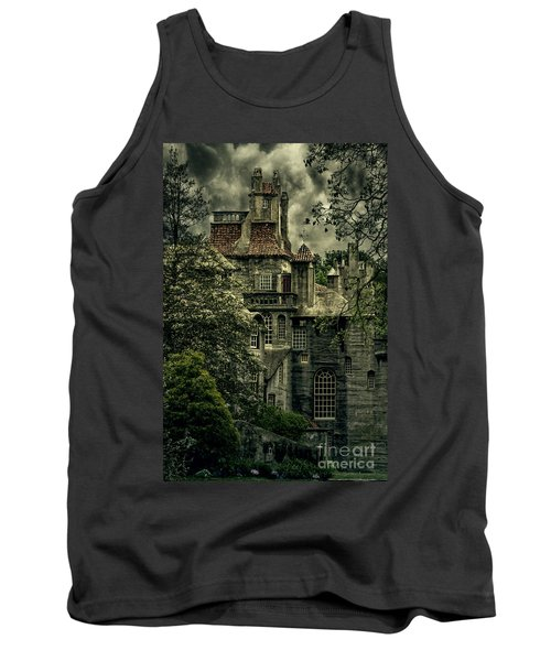 Fonthill With Storm Clouds Tank Top