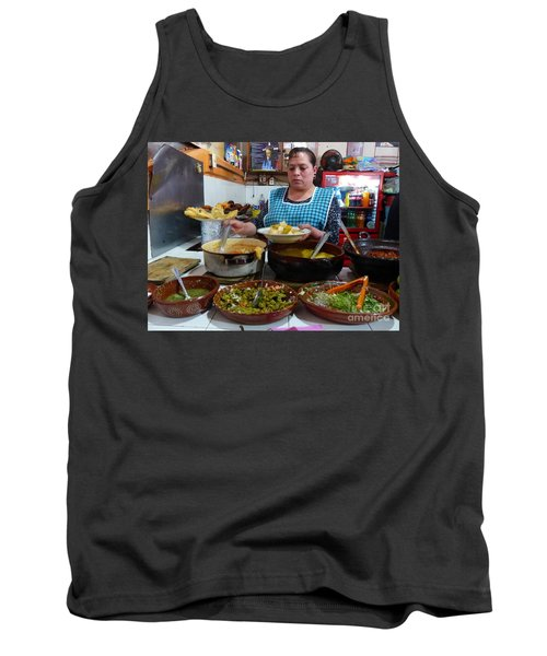 Food Court In Paracho Tank Top