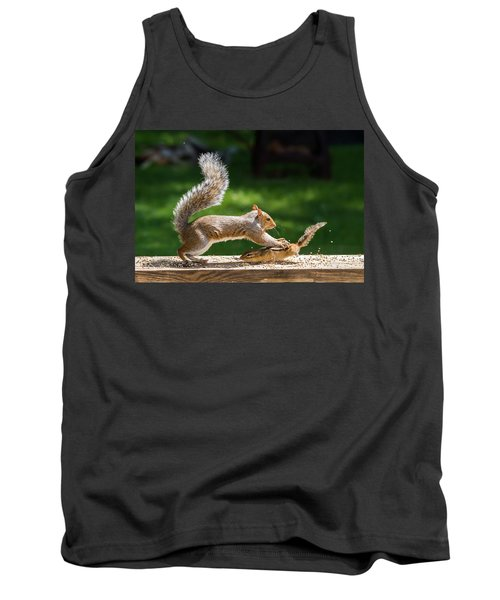 Food Fight Squirrel And Chipmunk Tank Top