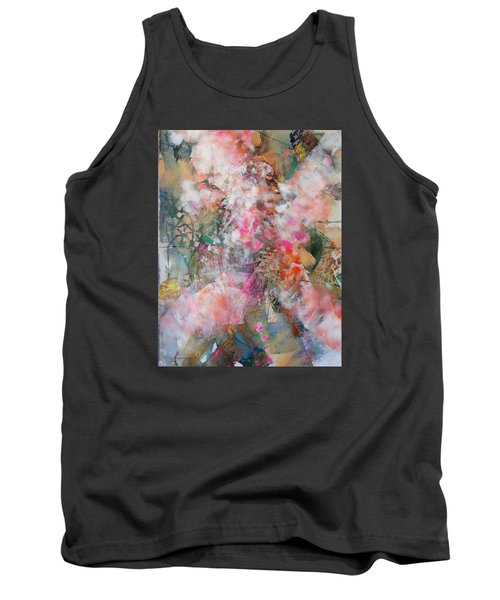 Footprints Tank Top by Becky Chappell