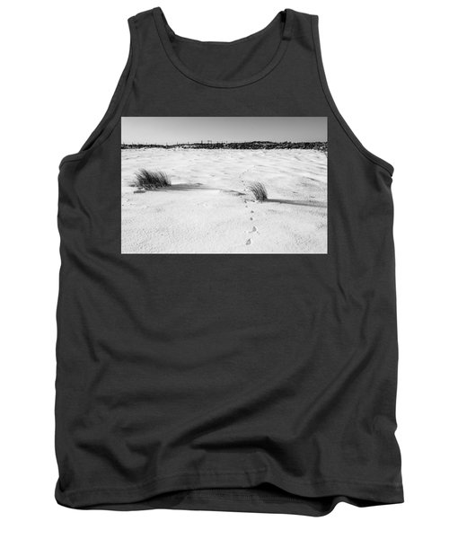 Footprints In The Snow I Tank Top