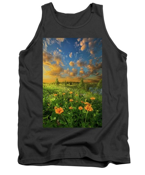 For A Moment All The World Was Right Tank Top