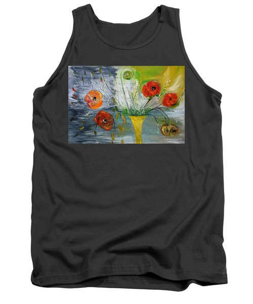 Tank Top featuring the photograph For Mom by Evelina Popilian