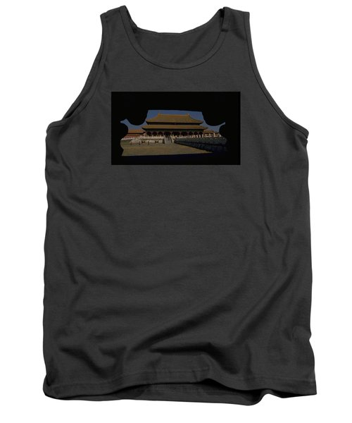 Forbidden City, Beijing Tank Top by Travel Pics