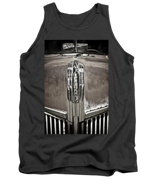 Ford Chrome Grille Tank Top by Marilyn Hunt