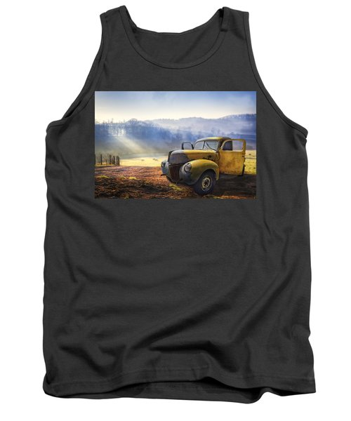 Ford In The Fog Tank Top