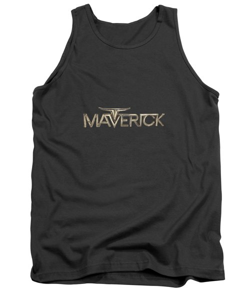 Ford Maverick Badge Tank Top by YoPedro