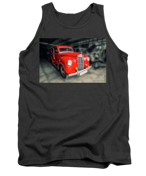 Tank Top featuring the photograph Ford Prefect by Charuhas Images