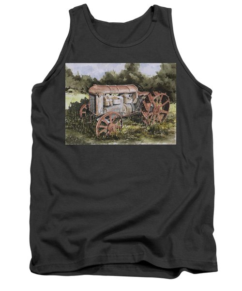 Fordson Model F Tank Top by Sam Sidders