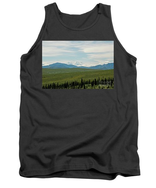 Foreground And Mountain Tank Top