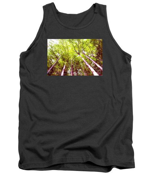 Tank Top featuring the photograph Forest 2 by Jean Bernard Roussilhe