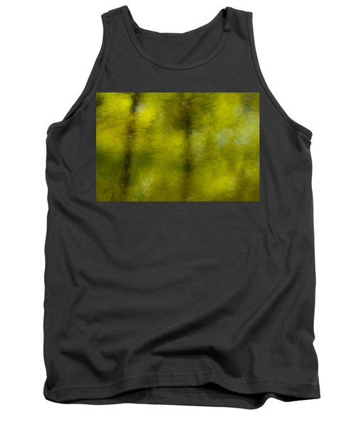 Forest Abstract Reflection Tank Top