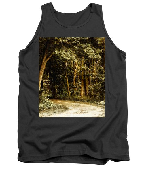 Forest Curve Tank Top