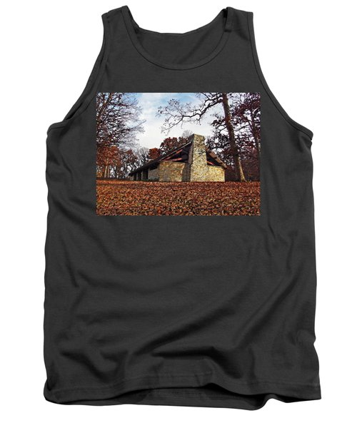 Forest Field House 3 Tank Top by Cedric Hampton