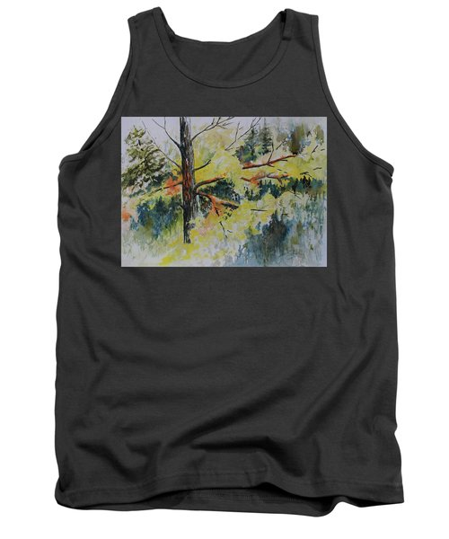 Forest Giant Tank Top by Joanne Smoley