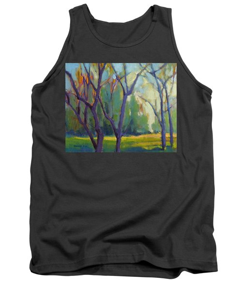 Forest In Spring Tank Top