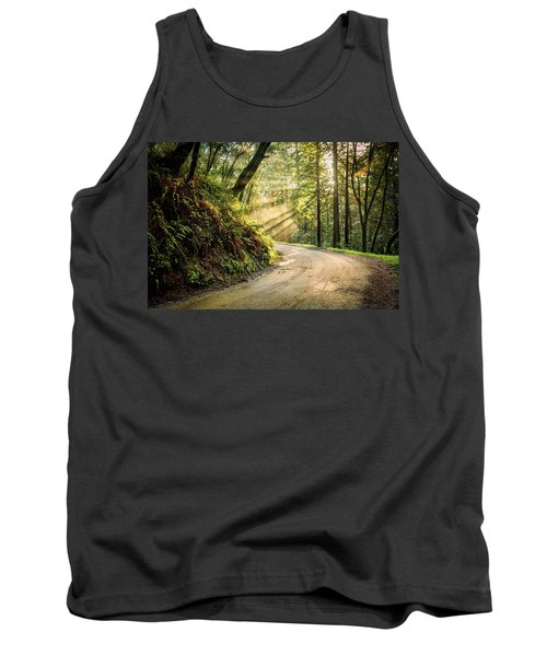 Tank Top featuring the photograph Forest Light by Jason Roberts