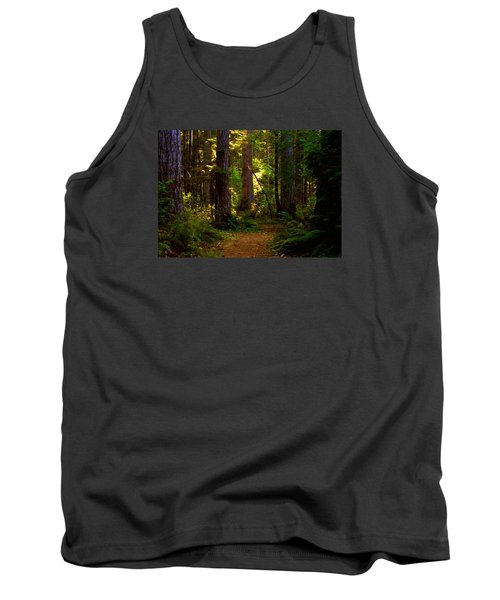 Forest Path Tank Top by Lori Seaman