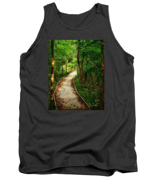 Tank Top featuring the photograph Forest Path by Nikki McInnes