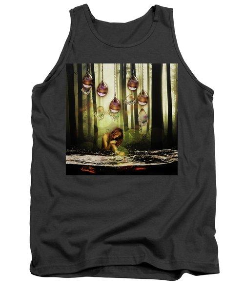 Forest Rain Fantasy Tank Top