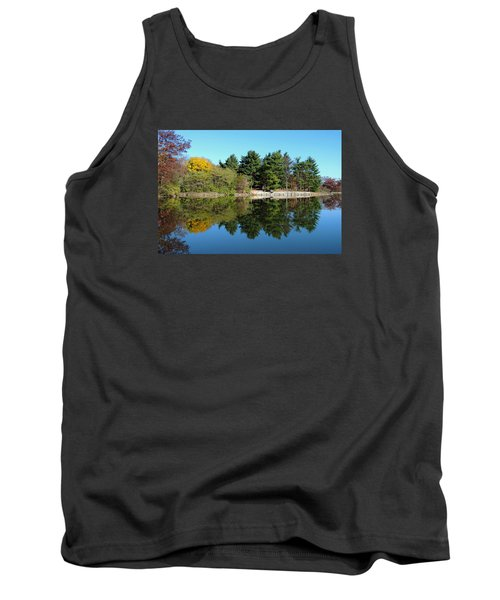 Forest Reflections Tank Top by Teresa Schomig