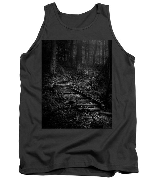 Forest Stairs Tank Top