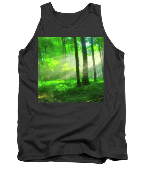 Forest Sunlight Tank Top