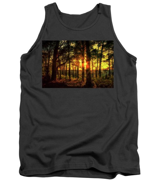 Forest Sunset Tank Top