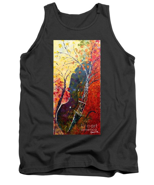 Forest Symphony Tank Top by AmaS Art