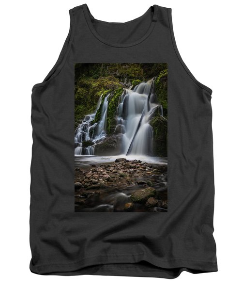 Tank Top featuring the photograph Forest Waterfall by Chris McKenna