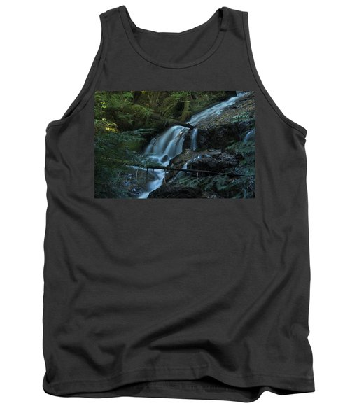 Forest Waterfall. Tank Top