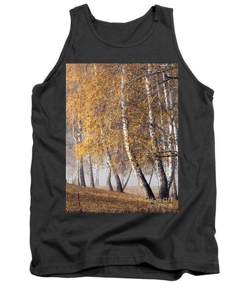 Forest With Birches In The Autumn Tank Top