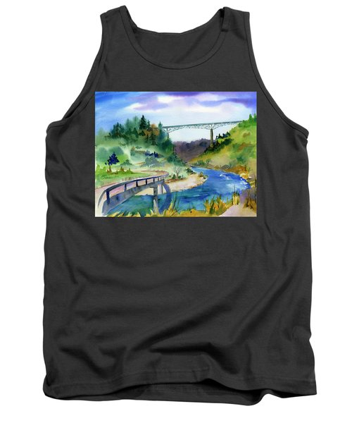 Foresthill Bridge #2 Tank Top